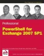 Cover of: Professional PowerShell for Exchange Server 2007 SP1 | Joel Stidley