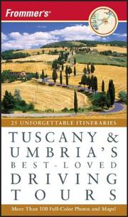 Cover of: Frommer's Tuscany & Umbria's Best-Loved Driving Tours (Best Loved Driving Tours)