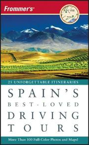 Cover of: Frommer's Spain's Best-Loved Driving Tours (Best Loved Driving Tours)
