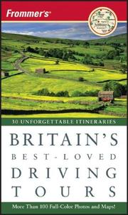 Cover of: Frommer's Britain's Best-Loved Driving Tours (Best Loved Driving Tours)