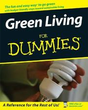 Cover of: Green Living For Dummies (For Dummies (Home & Garden)) | Liz Barclay
