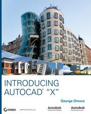 Cover of: Introducing AutoCad X