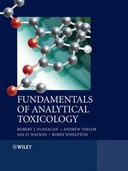 Cover of: Fundamentals of Analytical Toxicology | Robert J. Flanagan