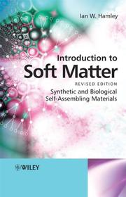 Cover of: Introduction to Soft Matter