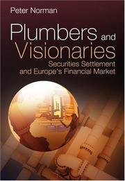 Cover of: Plumbers and Visionaries | Peter Norman