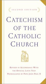 Cover of: Catechism of the Catholic Church