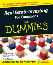 Cover of: Real Estate Investing for Canadians for Dummies | Middlemiss