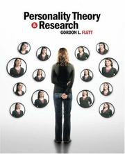 Cover of: Personality Theory and Research | Gordon L. Flett