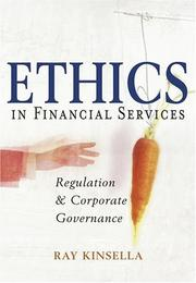 Cover of: Ethics in Financial Services
