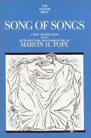Cover of: Song of Songs
