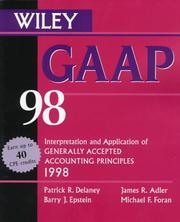 Cover of: Gaap 98 | Patrick R. Delaney