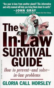 Cover of: The In-Law Survival Guide