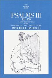 Cover of: Psalms III