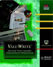 Cover of: ValuWrite | Wiley-ValuSource
