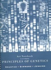 Cover of: Art Notebook to Accompany Principles of Genetics