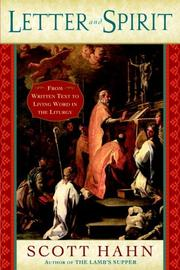 Cover of: Letter and Spirit: From Written Text to Living Word in the Liturgy