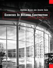 Cover of: Construction Exercises | Edward Allen