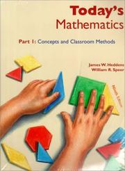 Cover of: Today's Mathematics, Parts 1 & 2, 9th Edition