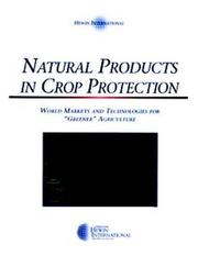 Cover of: Natural Products in Crop Protection | Willinger