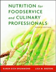 Cover of: Nutrition for Foodservice and Culinary Professionals, and Nraef Workbook Package | Karen Eich Drummond