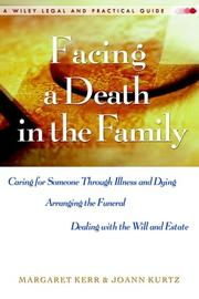 Cover of: Facing A Death in the Family | Margaret Kerr