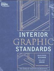 Cover of: McGowan/Interior Graphic Standards and Interior Graphic Standards CD-ROM Set