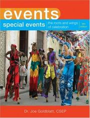 Cover of: Special Events