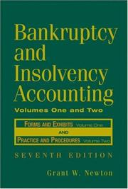 Bankruptcy and insolvency accounting by Grant W. Newton