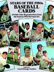 Cover of: Stars of the 1950s Baseball Cards
