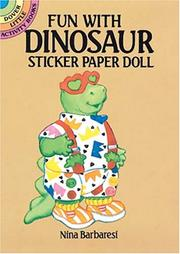 Cover of: Fun with Dinosaur Sticker Paper Doll