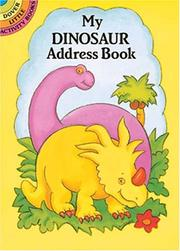 Cover of: My Dinosaur Address Book | Pomaska