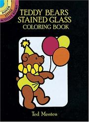 Cover of: Teddy Bears Stained Glass Coloring Book | Ted Menten