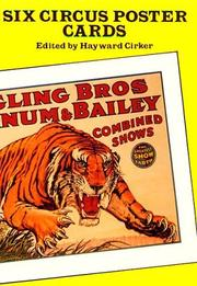 Cover of: Six Circus Poster Postcards (Small-Format Card Books)