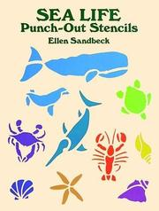 Cover of: Sea Life Punch-Out Stencils