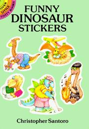 Cover of: Funny Dinosaur Stickers