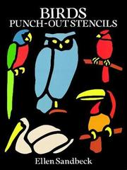 Cover of: Birds Punch-Out Stencils
