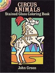 Cover of: Circus Animals Stained Glass Coloring Book