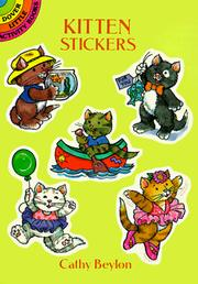 Cover of: Kitten Stickers