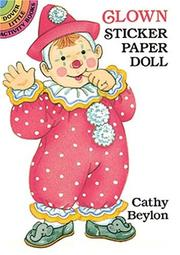 Cover of: Clown Sticker Paper Doll | Cathy Beylon