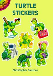 Cover of: Turtle Stickers