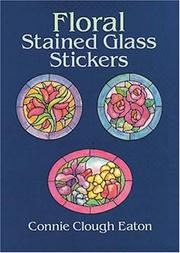 Cover of: Floral Stained Glass Stickers | Connie Clough Eaton