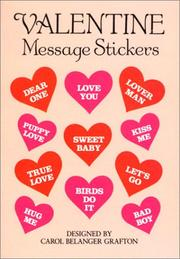 Cover of: Valentine Message Stickers