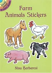 Cover of: Farm Animals Stickers