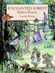 Cover of: Enchanted Forest Sticker Picture | Carolyn Ewing