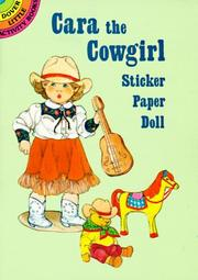 Cover of: Cara the Cowgirl Sticker Paper Doll