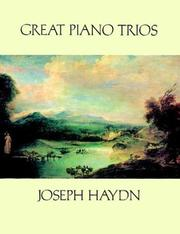 Cover of: Great Piano Trios