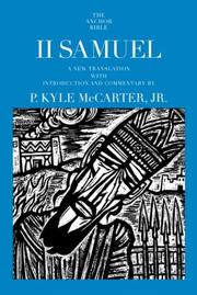 Cover of: II Samuel