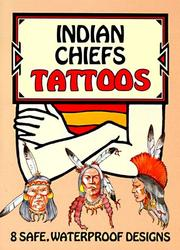 Cover of: Indian Chiefs Tattoos | Jan Sovak
