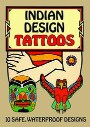 Cover of: Indian Design Tattoos