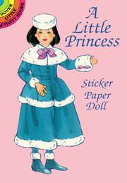 Cover of: A Little Princess Sticker Paper Doll